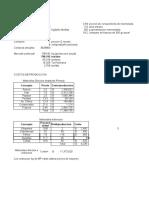 Calculo financiero (Inversión Fija, Depreciación).