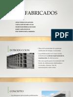 Presentación de prefabricados de procedimientos constructivos 2