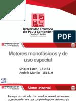 Motores monofásicos