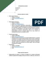 Evidencia 4 Conformacion Equipos de Trabajos Fase Organizativa
