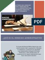 Concepto y Caracteres Del Derecho Administrativos (1)