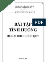 Bai Tap Tinh Huong He Thong Thong Tin Quan Tri Ngan Hang