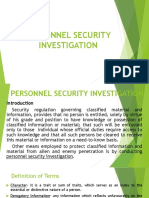Personnel Security Investigation - Copy