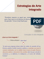 Estrategias de Arte Integrado Clase 1