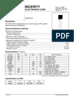 datasheet HSC1815