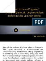 You want to be an Engineer? Read the pointers at your own risk before taking up Engineering!