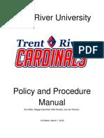 policy   procedure manual
