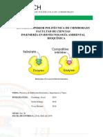 Procesos de Inhibición Enzimática