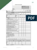 Block Work Chk List