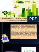 Herramientas de Gestion Ambiental en Las Estrategias Empresariales
