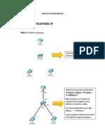 Guia de Pasos de Configuración Telefonia y Datos