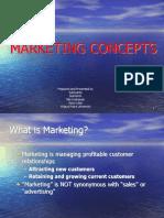 1. Marketing Concepts