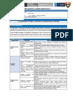 COM - Planificación Unidad 4 - 1er Grado