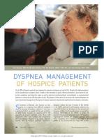 Dyspnea Management of Hospice Patients