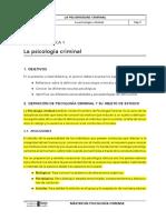 La Psicologia Criminal 7(1)