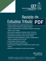 Revista de Estudios TributariosN13