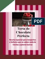 Nada Mejor Que Una Deliciosa Torta de Chocolate Para Subir El Ánimo