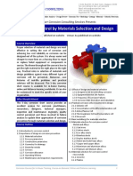 Corrosion Control by Materials Selection and Design