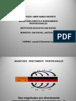 Magnitudes Directa e Inversa (1)