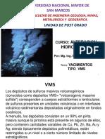 10ma Clase Depósitos Tipo VMS
