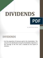 Deloso Dividend Policy