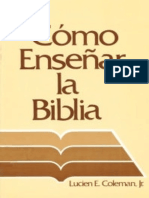Como Ensec3b1ar La Biblia Bmh 012