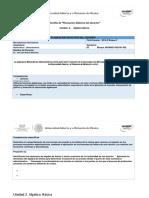 Plantilla para planeación didáctica  Unidad 2