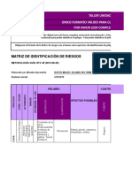 Formato Matriz de Riesgos - Unidad 2