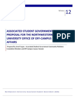 Asg Off-campus Office Proposal