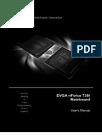 EVGA nForce Mainboard User Manual