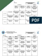 Horarios 2019-i - Educacion Inicial