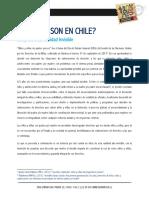 CUÁNTOS SON en CHILE Cifras de Una Realidad Invisible en Marcha