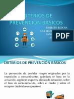 Criterios de Prevencion Basicos