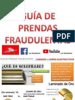Guía prendas fraudulentas