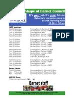 UNISON Future Shape of Barnet Council meetings