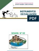 SESION 2 PPT Evaluación-Instrumentos