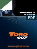 MANUAL DE OPERADOR TORO 007 7311.pdf