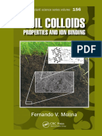 (Surfactant Science) Fernando V Molina-Soil Colloids_ Properties and Ion Binding-Taylor & Francis, CRC Press (2013).pdf