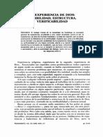 Experiencia de Dios posibilidad  estructura verificabilidad  Torres Queiruga - 35-69.pdf