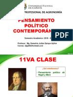 11VA CLASE DE PENSAMIENTO POLITICO CONTEMPORANEO.ppt