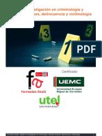 Master en Investigacion en Criminologia y Ciencias Forenses Delincuencia y Victimologia Ficha