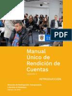 Manual Único de Rendición de Cuentas - Versión 2. Introducción - Febrero de 2019.pdf