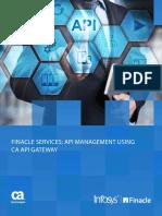 Finacle Services API Management Copy