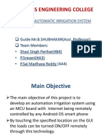 Iot Based Automatic Irrigation System
