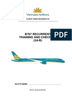 Zibo 737-800 Concise Checklist | Vehicle Parts | Spaceflight