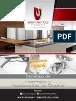 catalogo de herrajes y accesorios de cocina