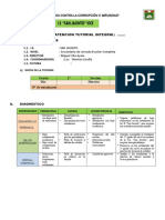Modelo de plan de tutoria de aula