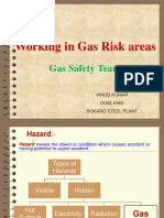 GAS SAFETY IN STEEL PLANTS