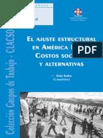 Emir Sader - Ajuste Estructural En America Latina_ Costos Sociales y Alternativas (Ariel Historia) (Spanish Edition) (2001).pdf