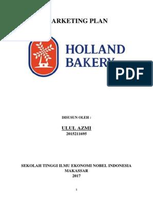 Marketing Plan Holland Bakrey Makassar